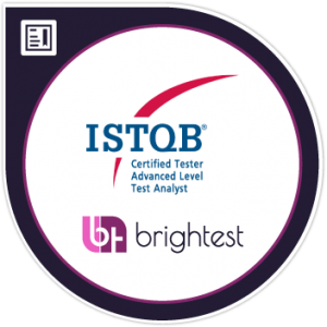 certified tester advanced level test analyst